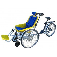 Fauteuil roulant + cycle VTT Rollfiets