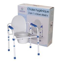 Chaise percée ou réhausse de toilette