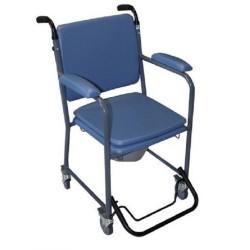 Chaise percée avec roulettes GR30