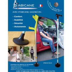 Canne embout Stabicane
