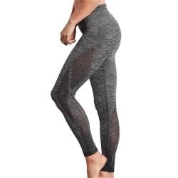 Pantalon de sport Seamless Mélangé - Gris chiné