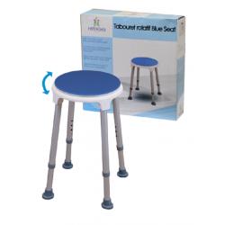 Tabouret de douche rotatif Blue Seat