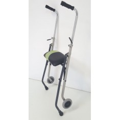 Rollator 2 roues 2 patins ACTIO 2
